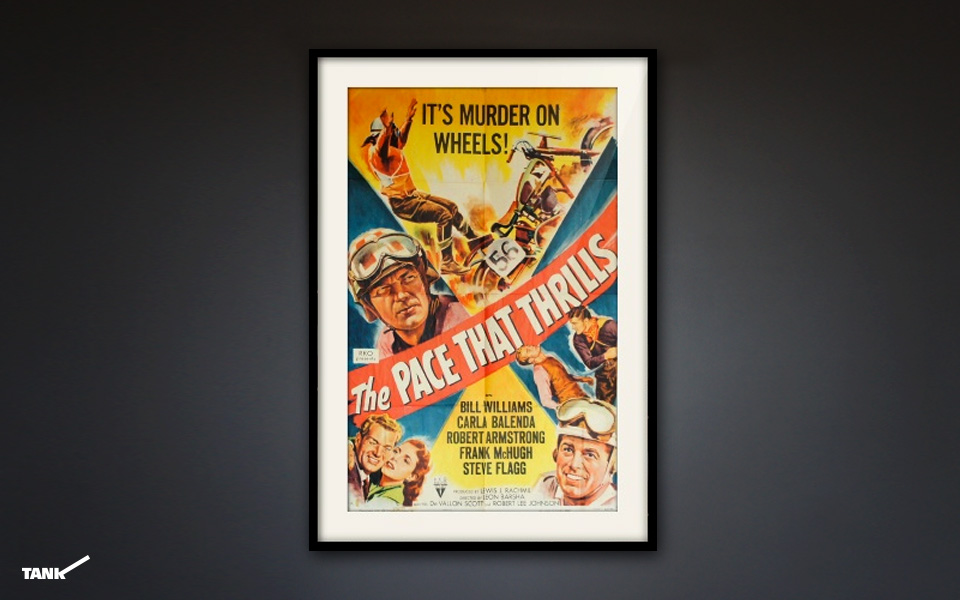 The-Pace-That-Thrills-poster-framed